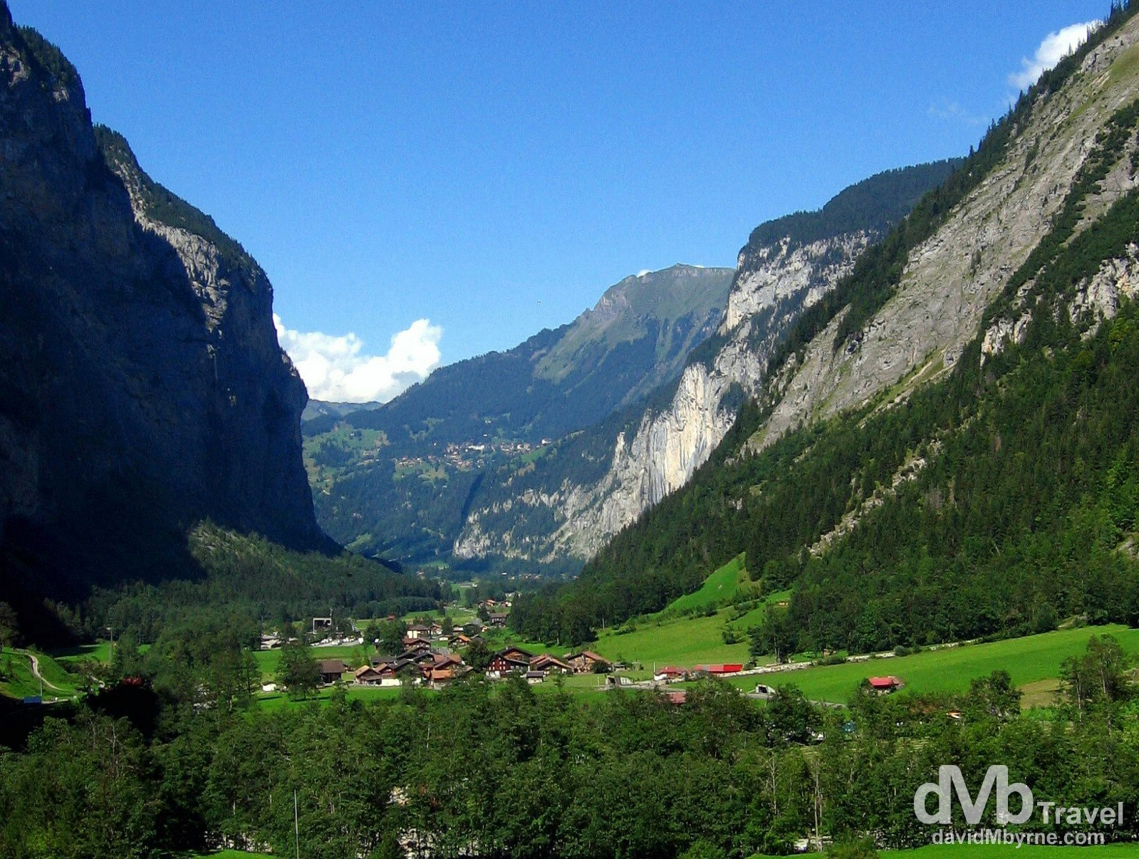 Lauterbrunnen Valley, Jungfrau, Switzerland