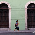 On the streets of Merida, Yucatan, Mexico. May 2nd 2013.