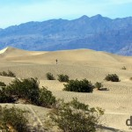Mesquite Flat Sand Dunes, Death Valley National Park, California, USA. April 3rd 2013.