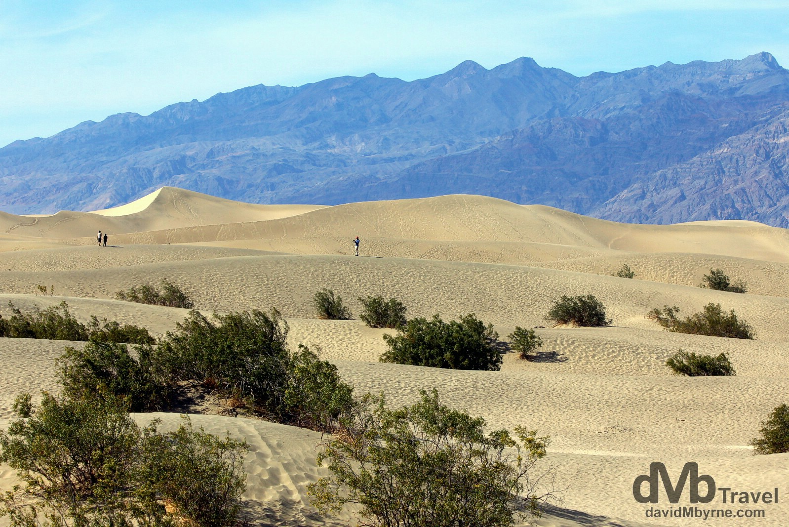 Mesquite Flat Sand Dunes, Death Valley National Park, California, USA. April 3rd 2013.