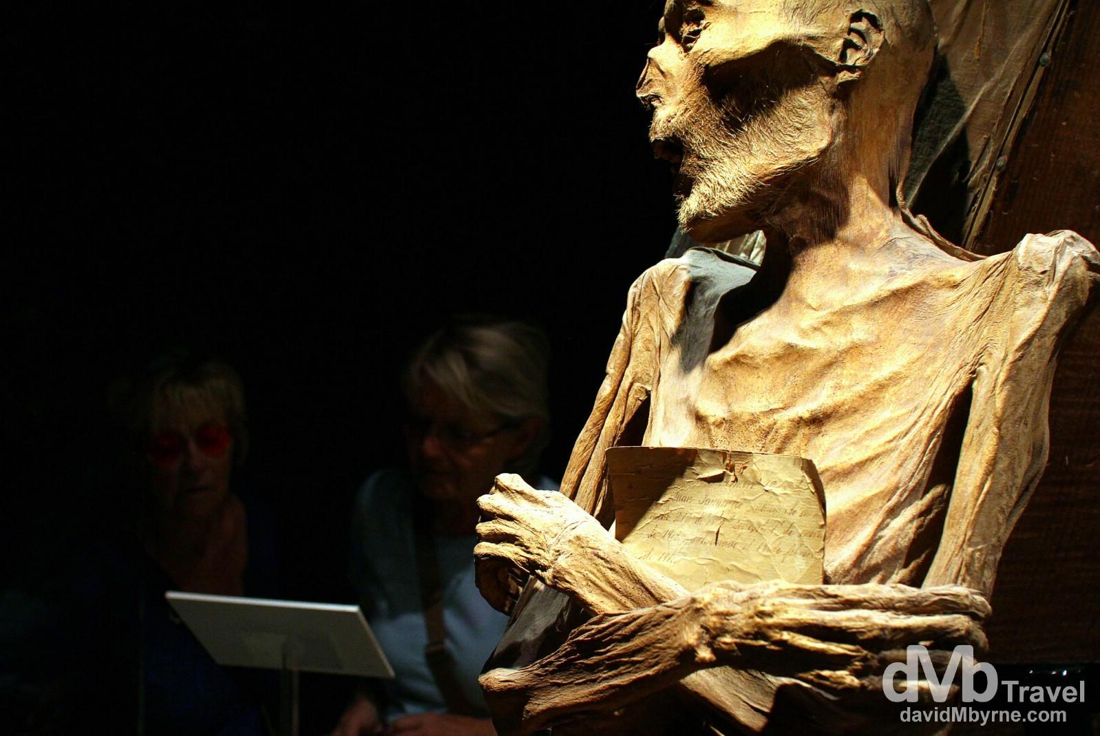 Museum of the Mummies, Quanajuato, Mexico. April 24th 2013.