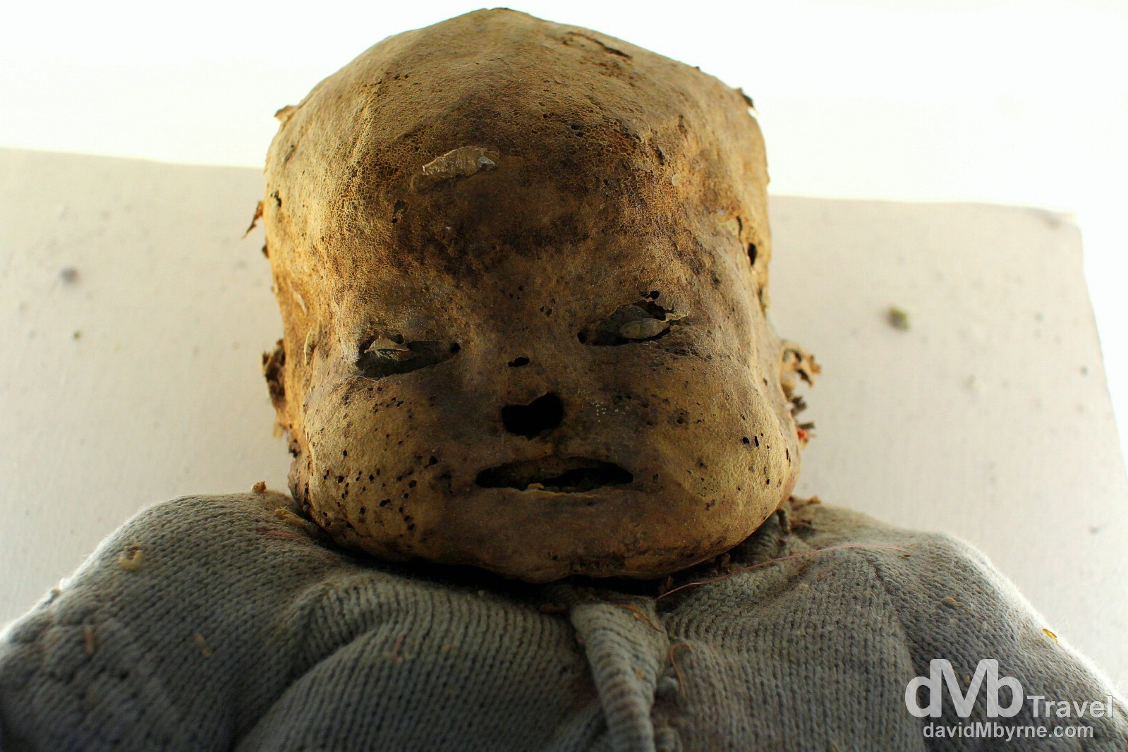 Museum of the Mummies, Quanajuato, Mexico. April 24th 2013.