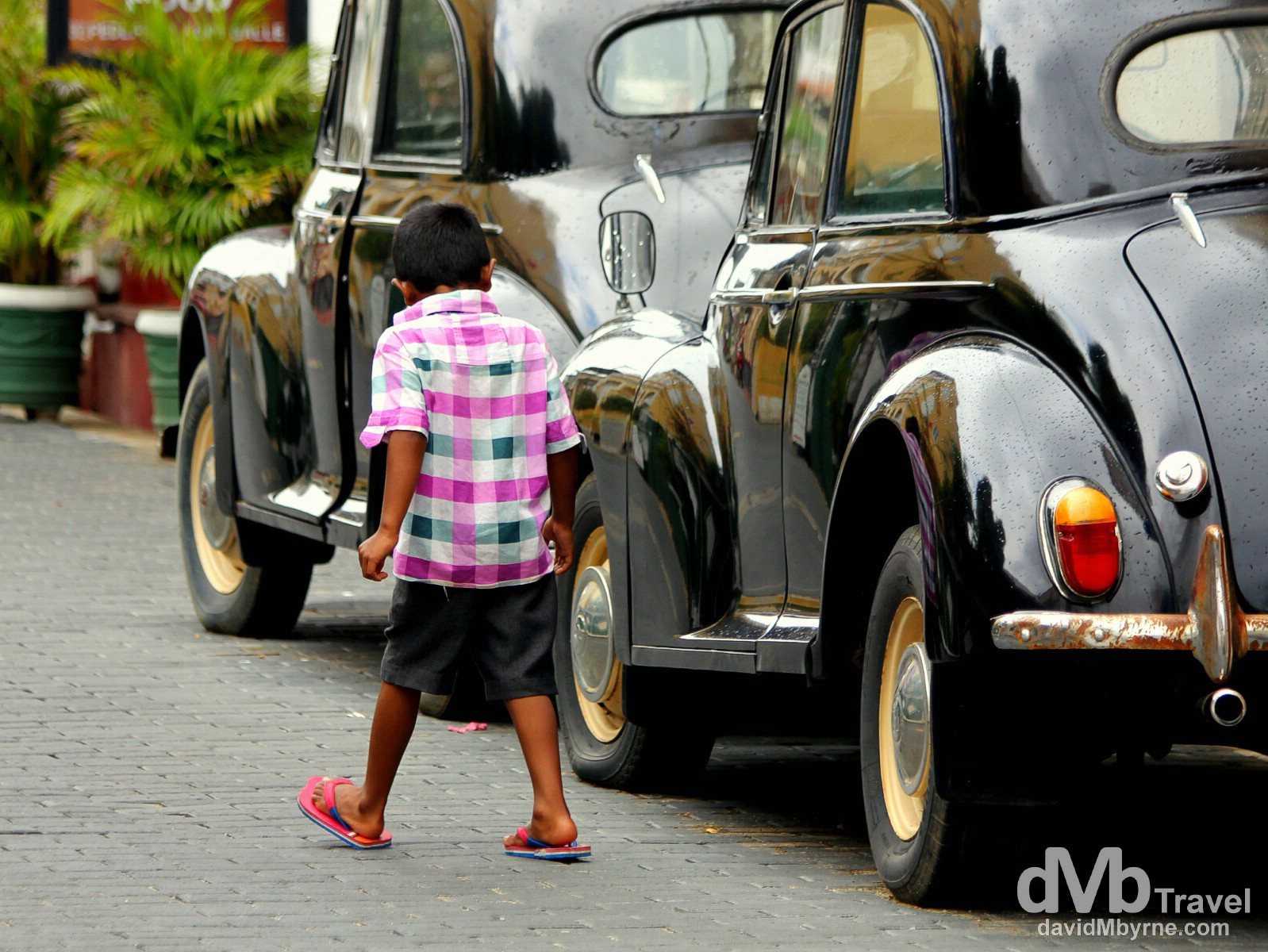 On the streets of Galle, southern Sri Lanka. September 2nd 2012.