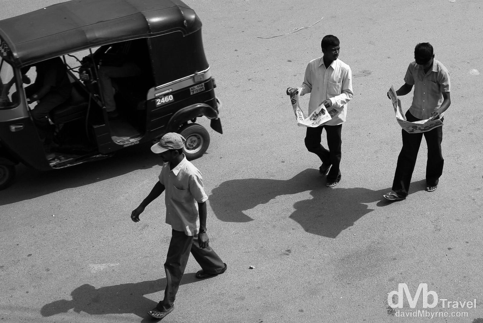 On the streets Mysore, Karnataka, southern India. September 21st 2012.