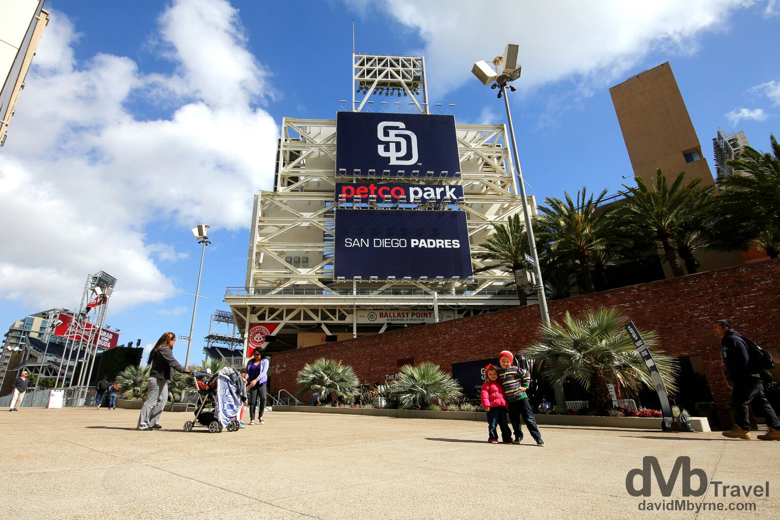 Outside Petco Park, the home of the San Diego Padres Baseball Team. San Diego, California, USA. April 16th 2013.