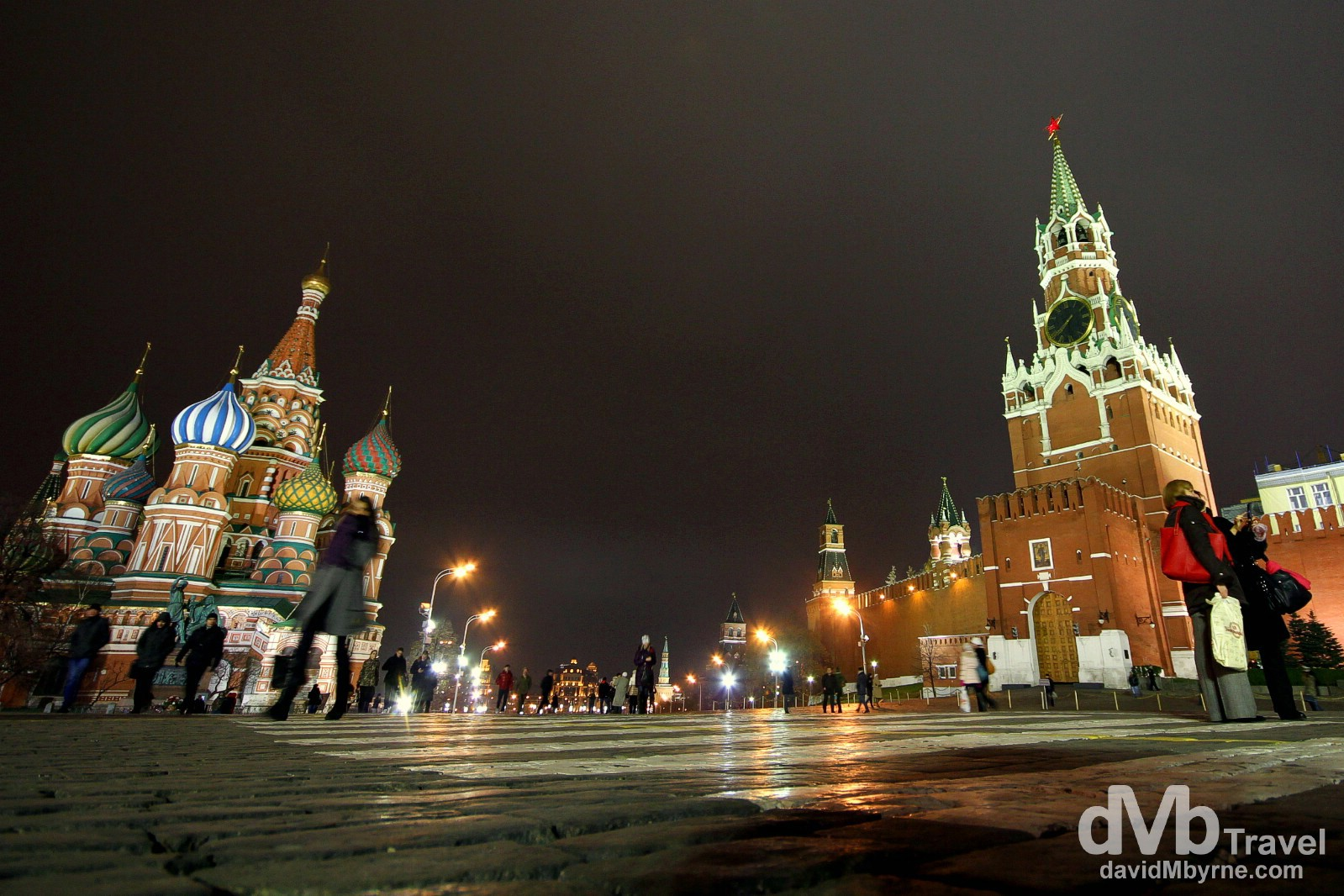 Red Square, Moscow, Russia. November 19th 2012.