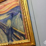 The Scream by Edward Munch hanging in the National Gallery, Oslo, Norway. November 29th 2012.