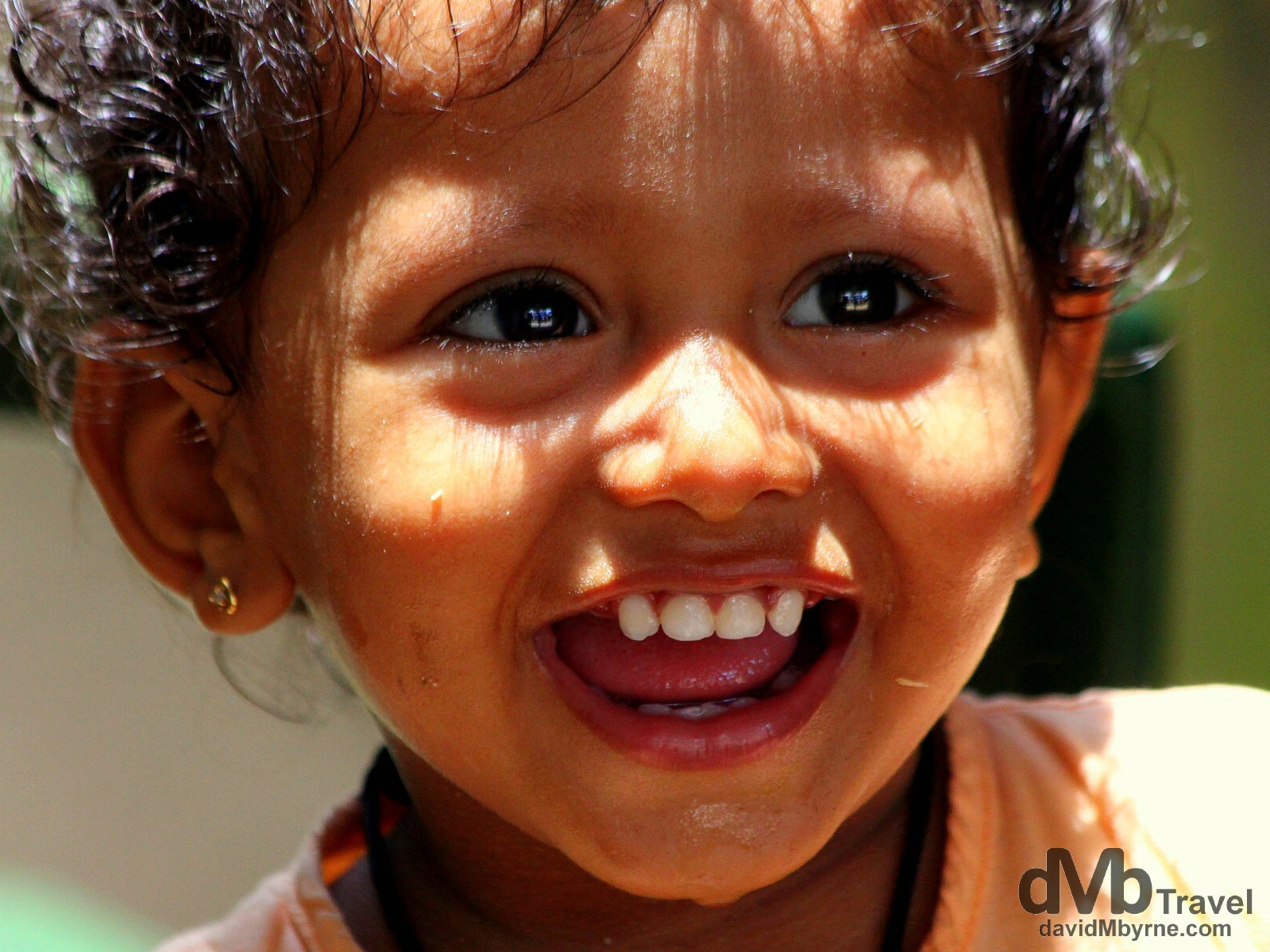 All smiles in the lanes of Unawatuna, Southern Sri Lanka. September 1st 2012.