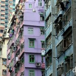 Dwellings in Kowloon, Hong Kong. October 20th 2012.