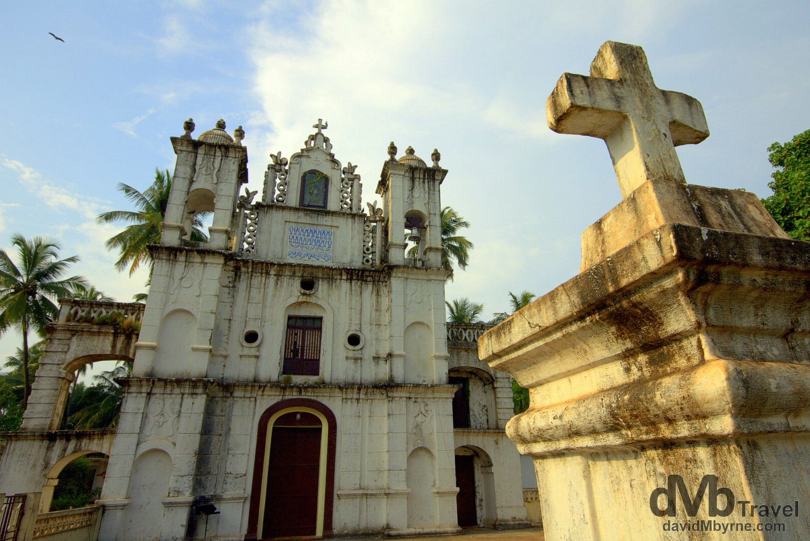 St Anthony's Chapel, Anjuna, Goa, India. September 29th 2012.