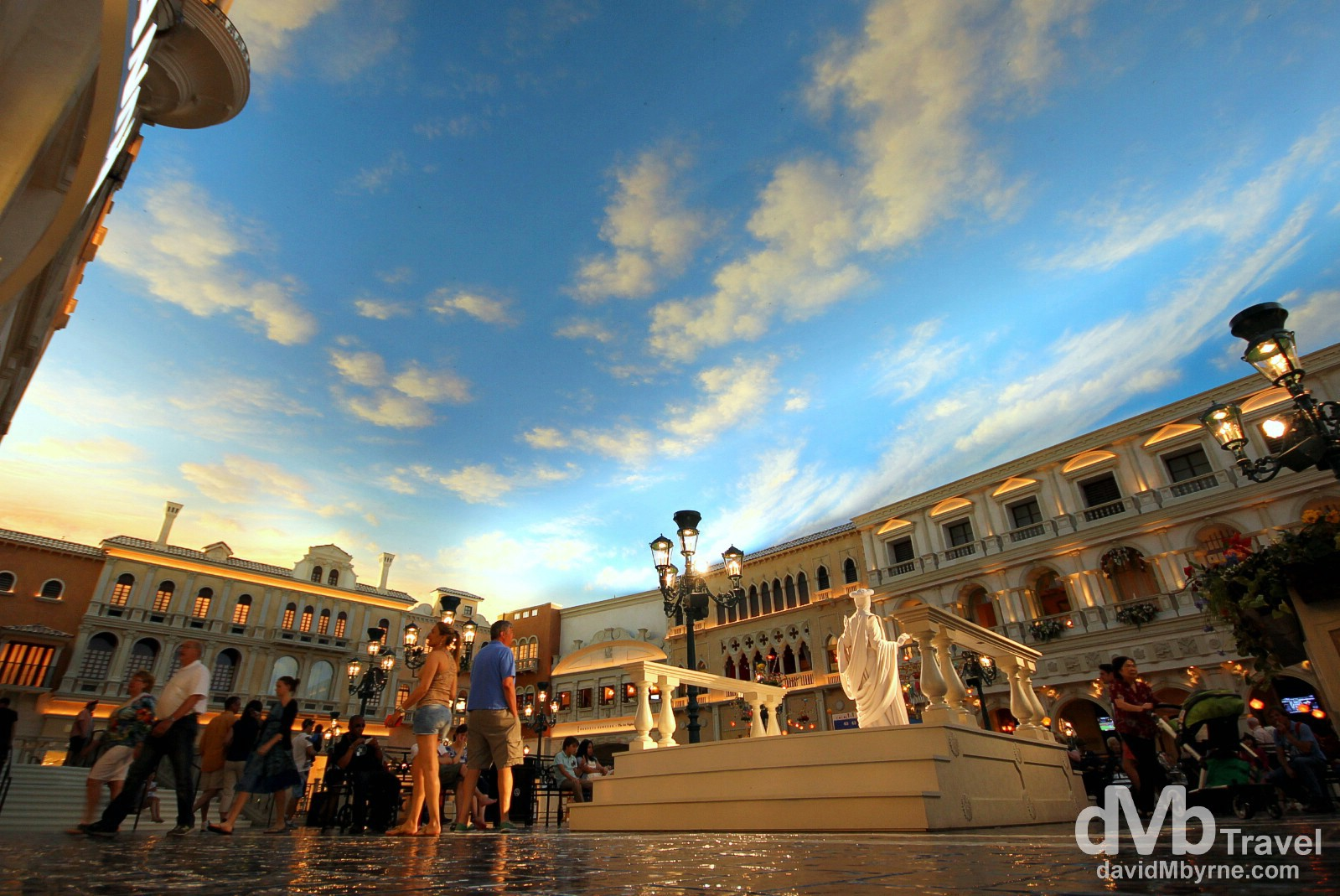 The Venetian Hotel & Casino, Las Vegas, Nevada, USA. April 4th 2013.