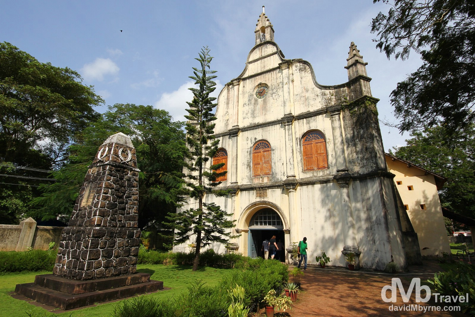 The 1503 AD St. Francis Church, Fort Cochin, Kerala, India. September 18th 2012.