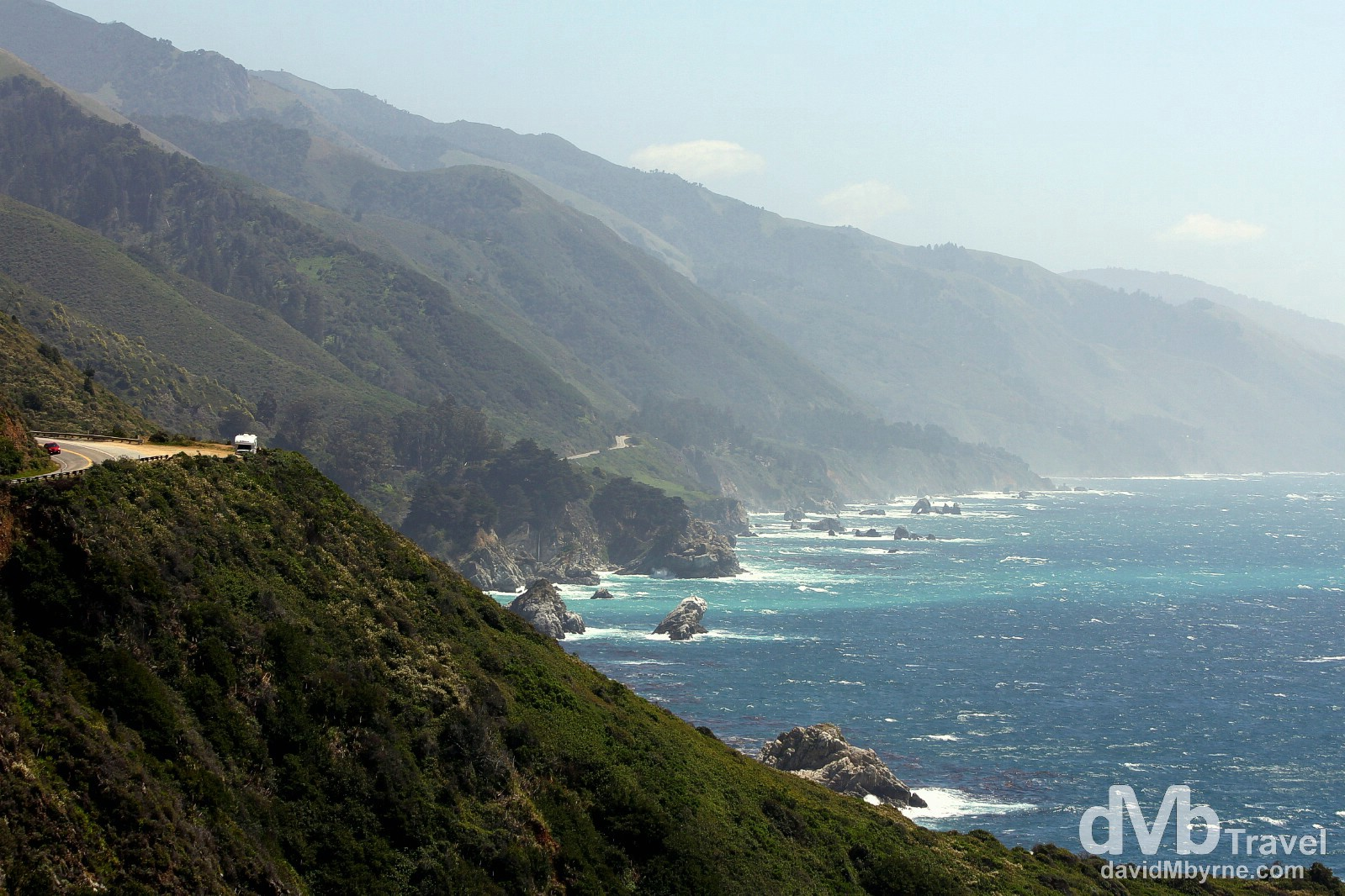 State Route 1/Pacific Coast Highway, California, USA. April 8th 2013.