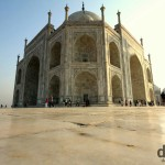Symmetry of the Taj Mahal, Agra, Uttar Pradesh, India. October 11th 2012.