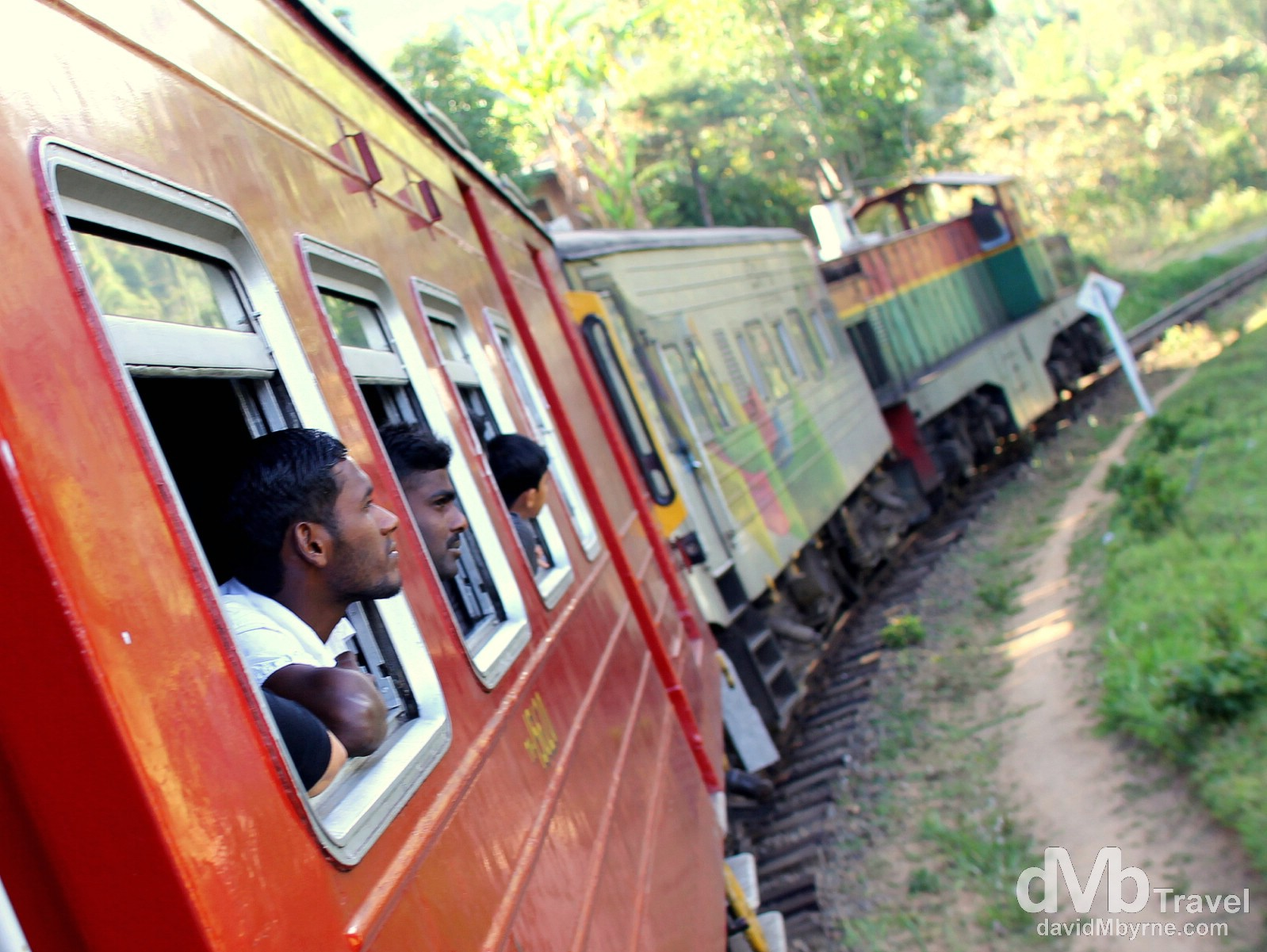 Sri Lanka || Riding The Rails