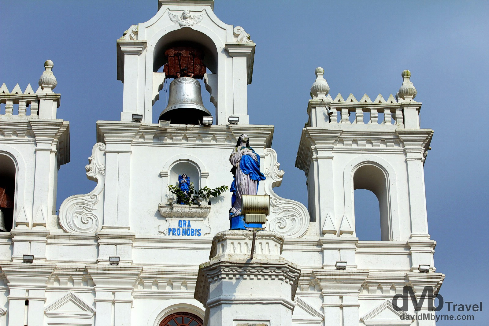 The Church Of Our Lady Of The Immaculate Conception, Panaji, Goa, India. September 28th 2012.