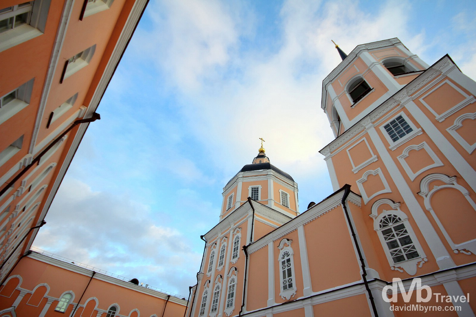 The Epiphany Cathedral, Tomsk, Siberian Russia. November 11th 2012.