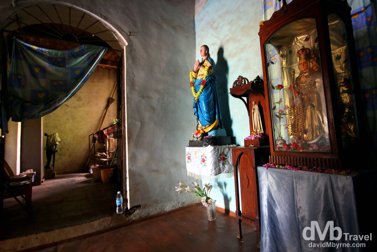 The Inside a section of the Church Of Our Lady Of The Immaculate Conception, Panaji, Goa, India. September 28th 2012.