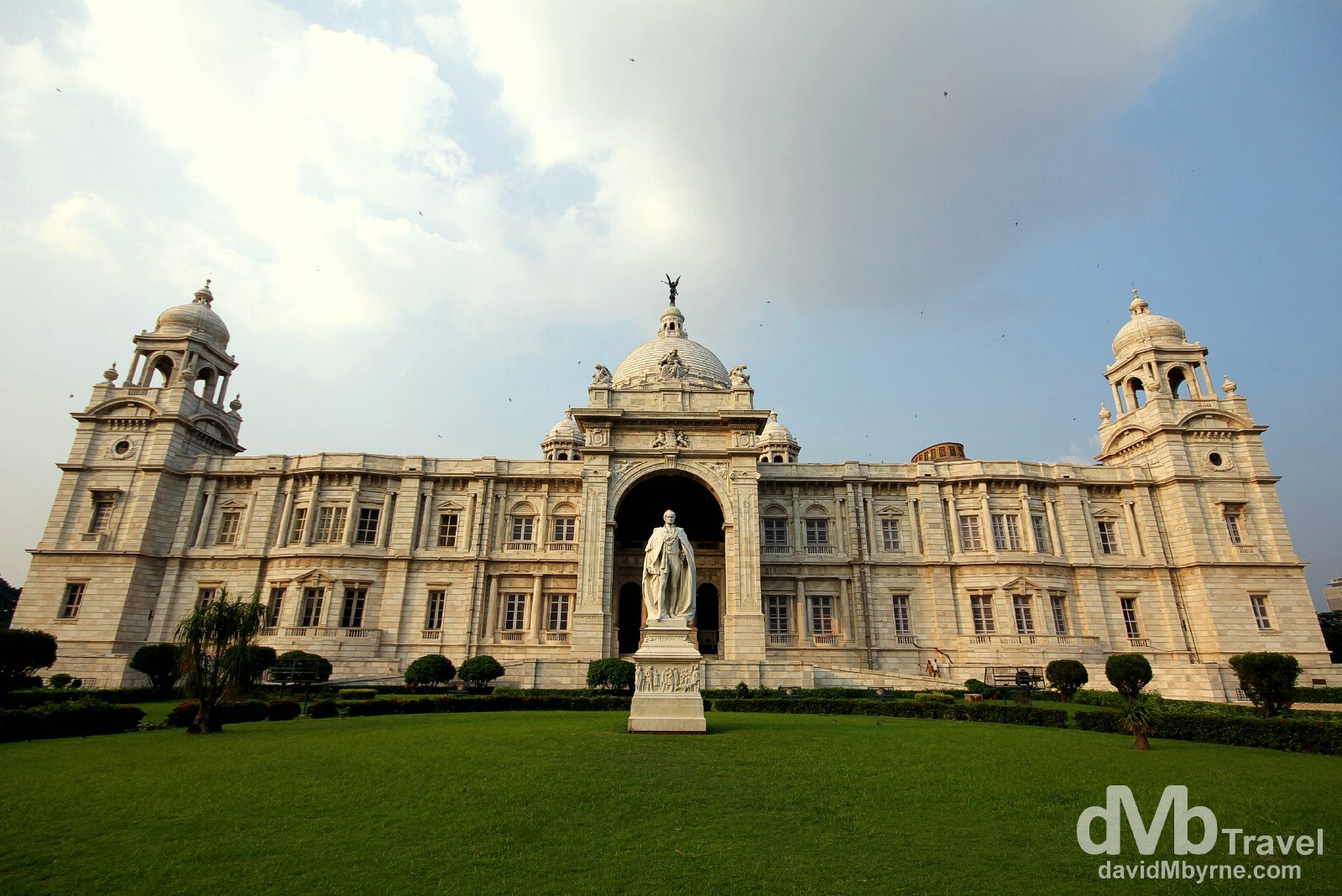 The Victoria Memorial, Kolkata (Calcutta), West Bengal, India. October 16th 2012.