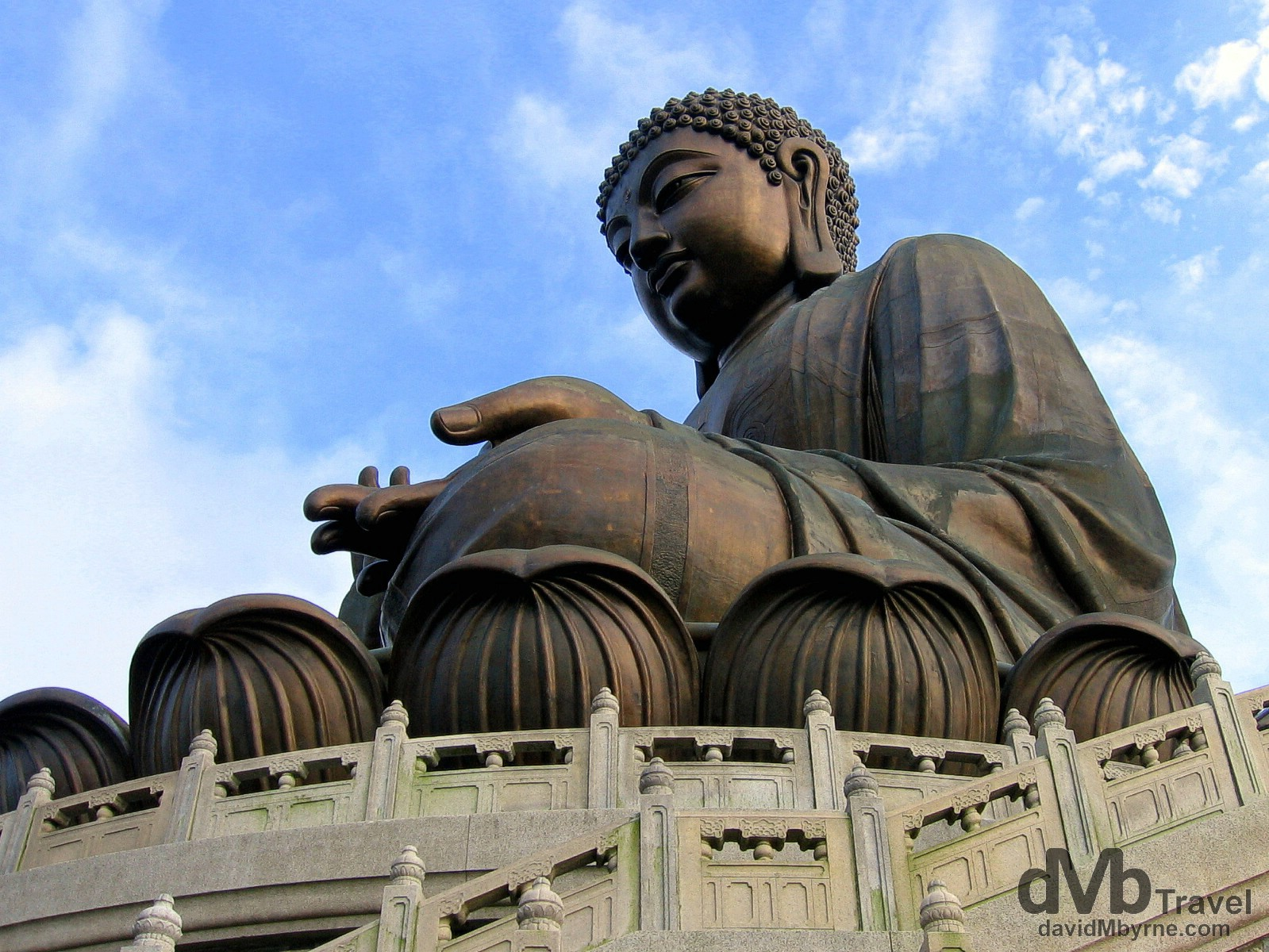 Tian Tan Buddha, Lantau Island, Hong Kong, China. August 27th 2005.