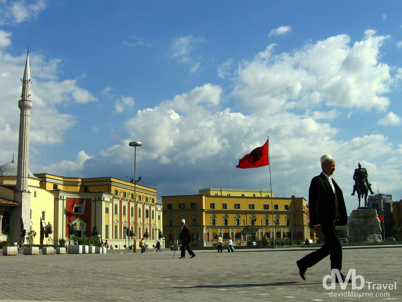 Sheshi Skenderbeg Square, Tirana, Albania