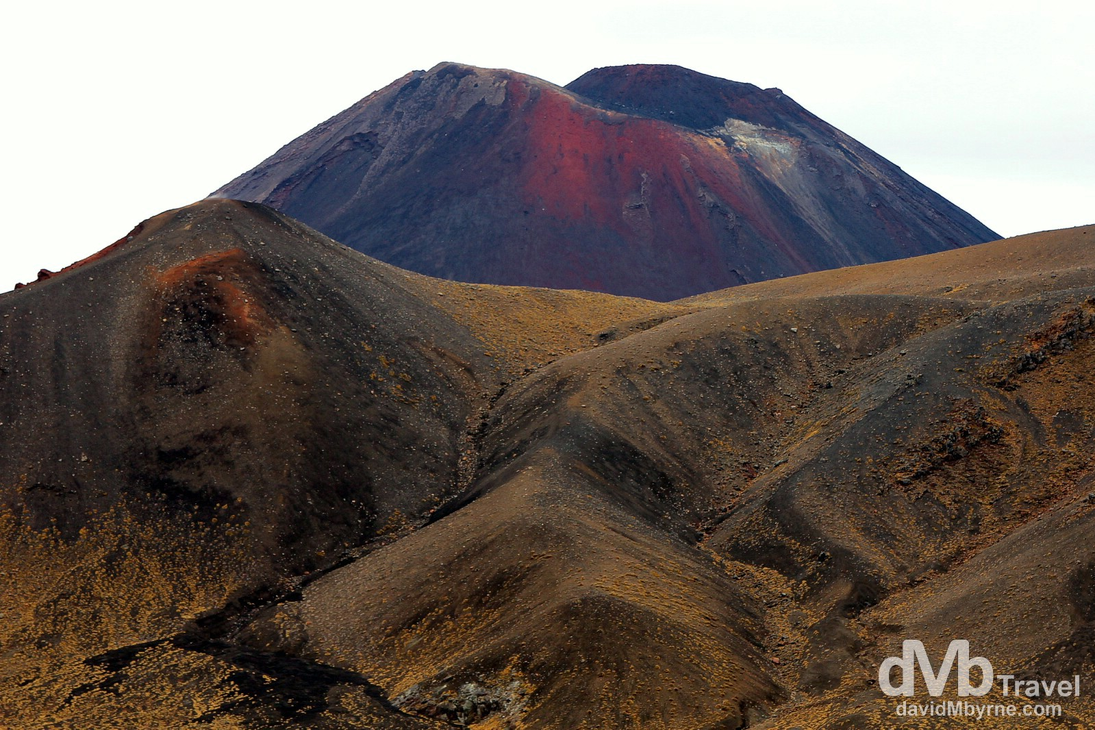 Volcanic topography. Tongariro National Park, North Island, New Zealand. May 9th 2012.