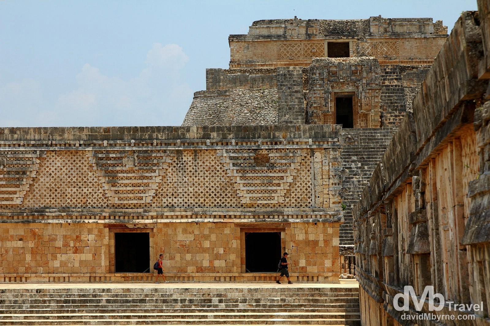Uxmal Mayan ruins, Yucatan Peninsula, Mexico. May 2nd 2013.