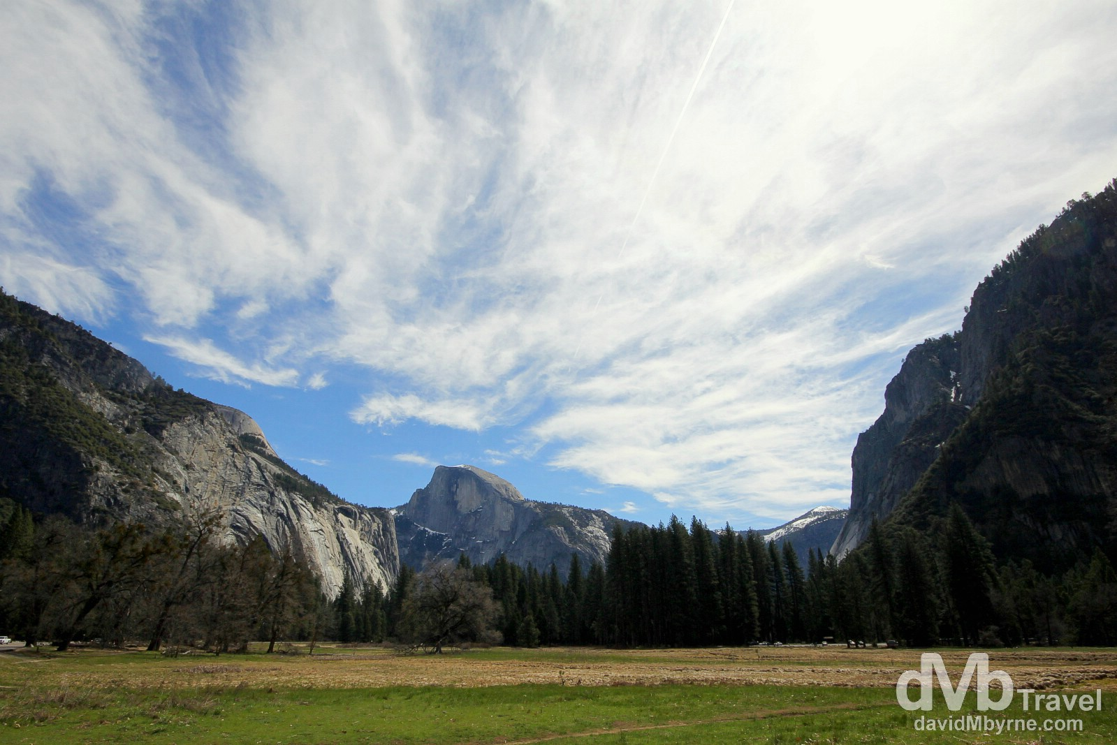 Yosemite Valley, Yosemite National Park, California, USA. April 2nd 2013.