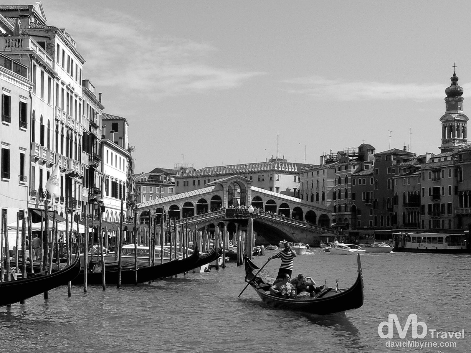 On the Grand Canal in Venice, Veneto, Italy. August 27th, 2007.