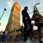 Walking in Westminster, London, England. December 8th 2012.