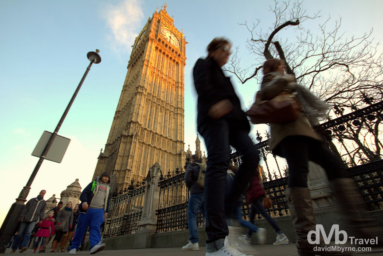 Walking in Westminster, London, England. December 8th 2012.