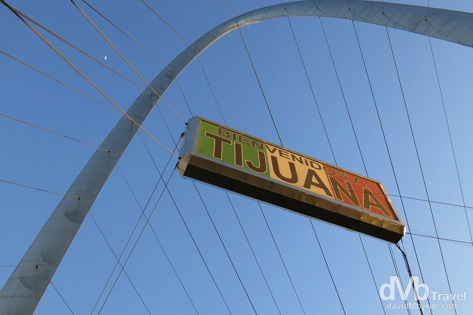 Umm, there's not much else to photography in TJ so here's another picture of the city's landmark arch on Avenue Revolucion (La Revo). Tijuana, Mexico. April 18th.