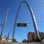 The Arch, Avenue Revolucion (La Revo), Tijuana. Mexico. April 18th 2013.