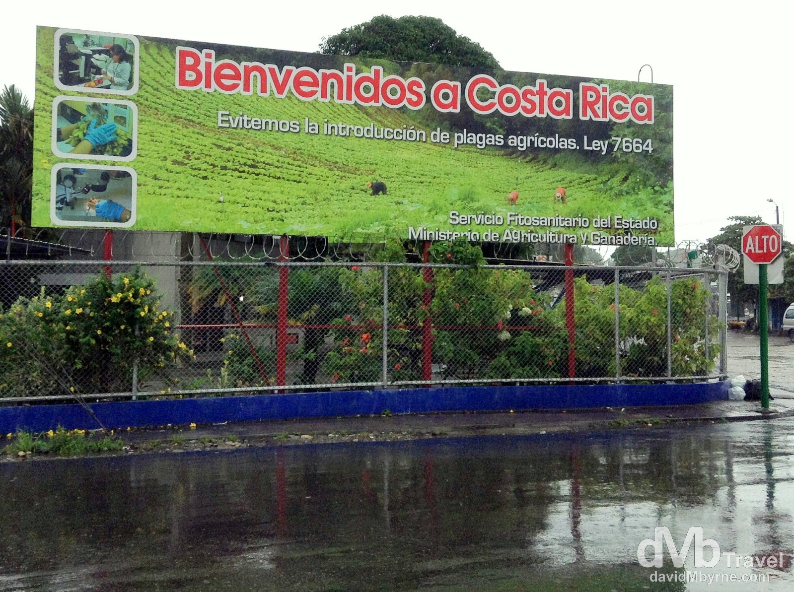 Costa Rica – Panama Border Crossing, Central America