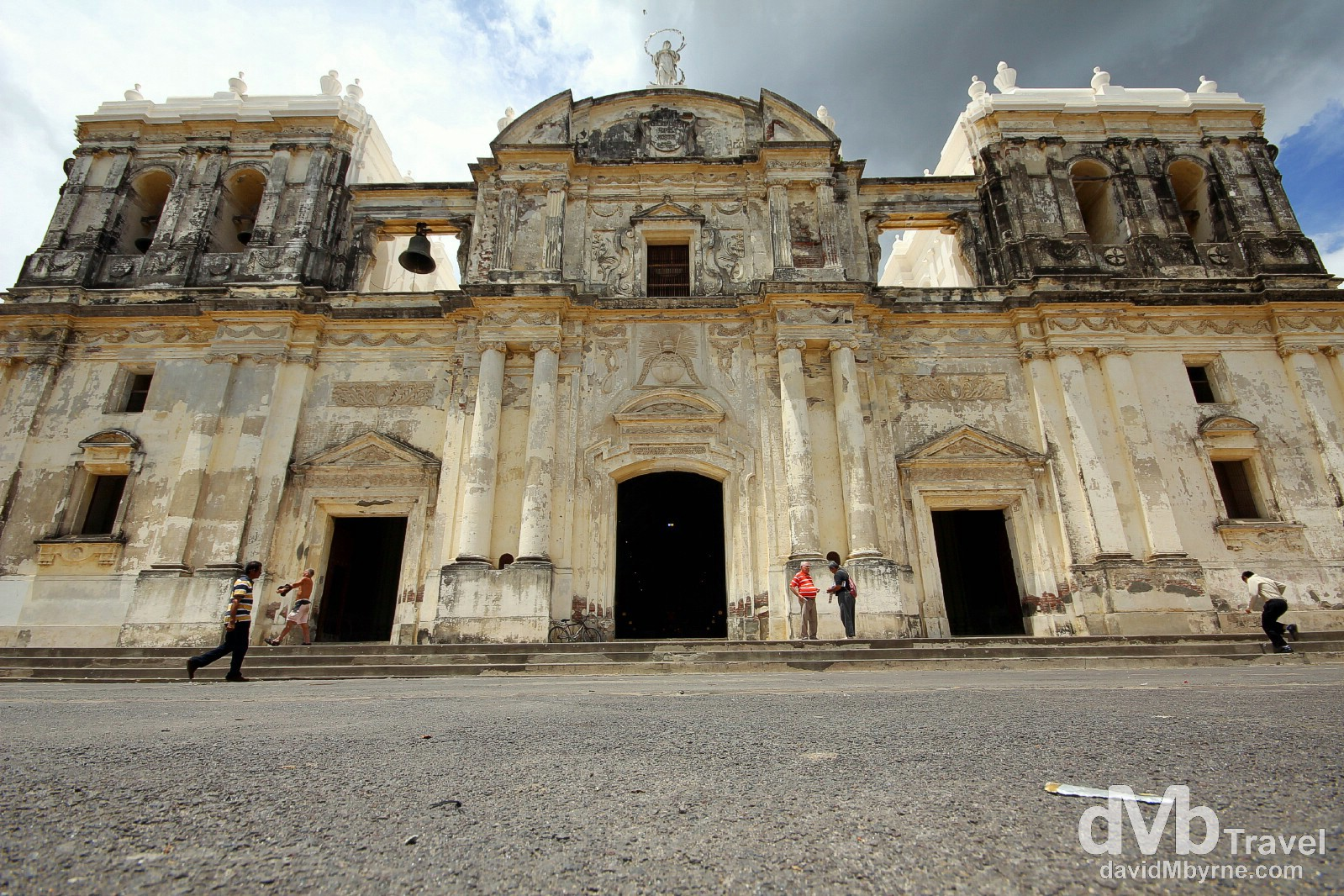 Leon Cathedral, Leon, Nicaragua. June 16th 2013.