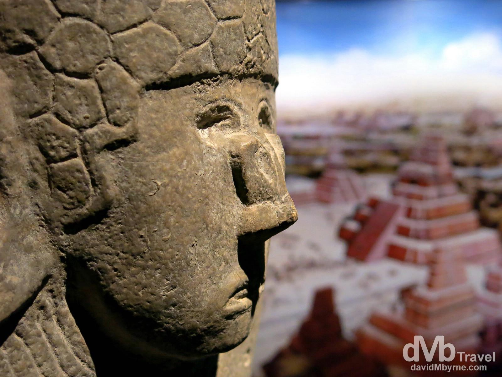 Museo de la Cultra Maya (Mayan Cultural Museum), Chetumal, Yucatan, Mexico. May 9th 2013.