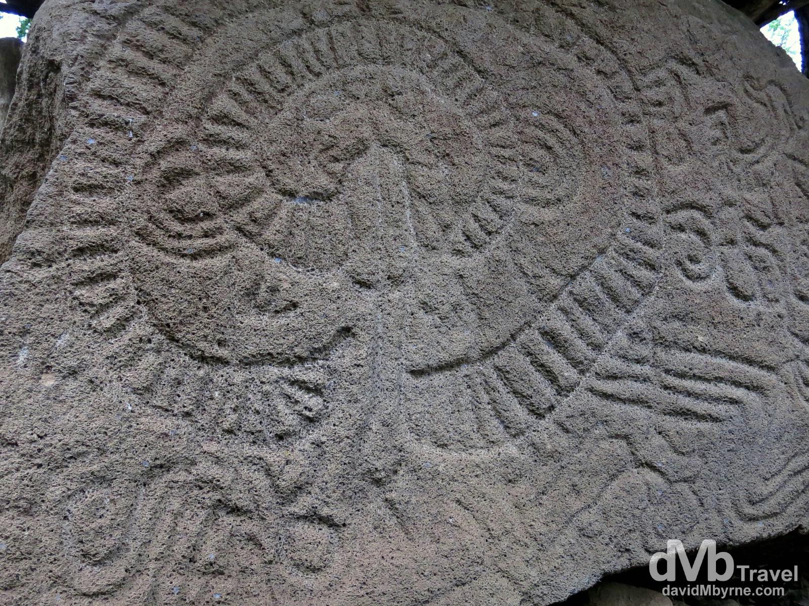Petroglyph, Isla de la Ometepe, Lago de Nicaragua, Nicaragua