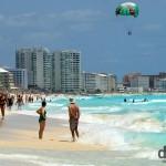 Playa Chac-Mool, Cancun, Yucatan, Mexico. May 5th 2013.