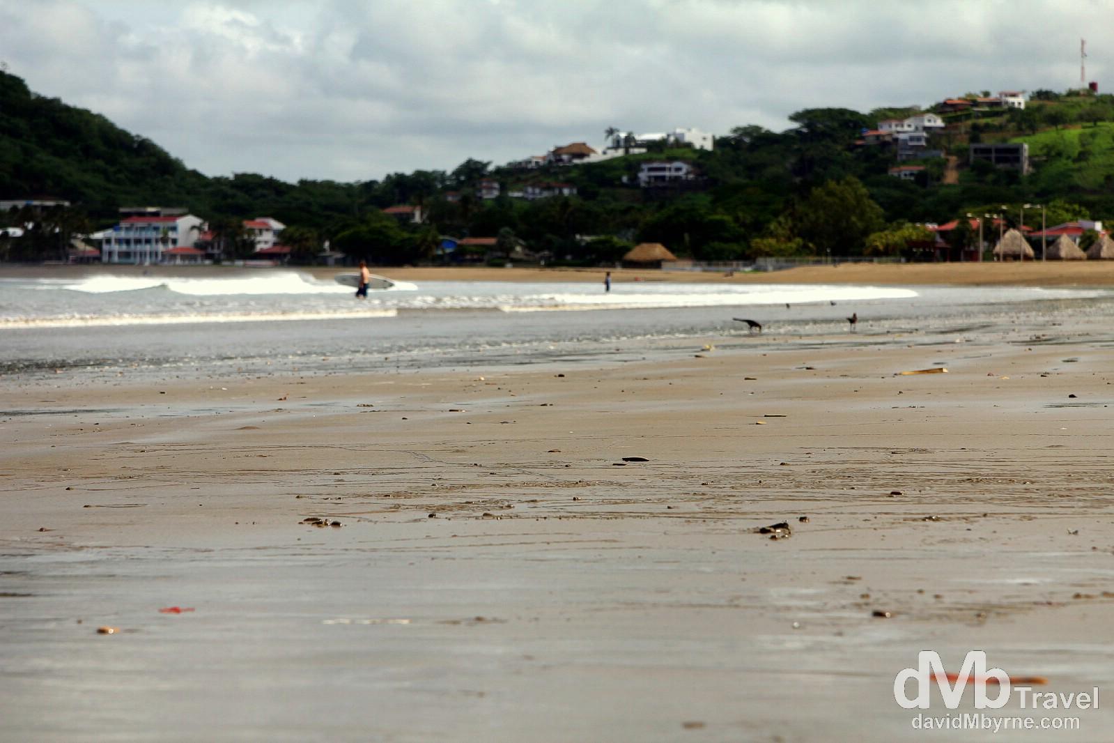 (Absent) 'Golden sand'. San Juan Del Sur, Nicaragua. June 22nd 2013.