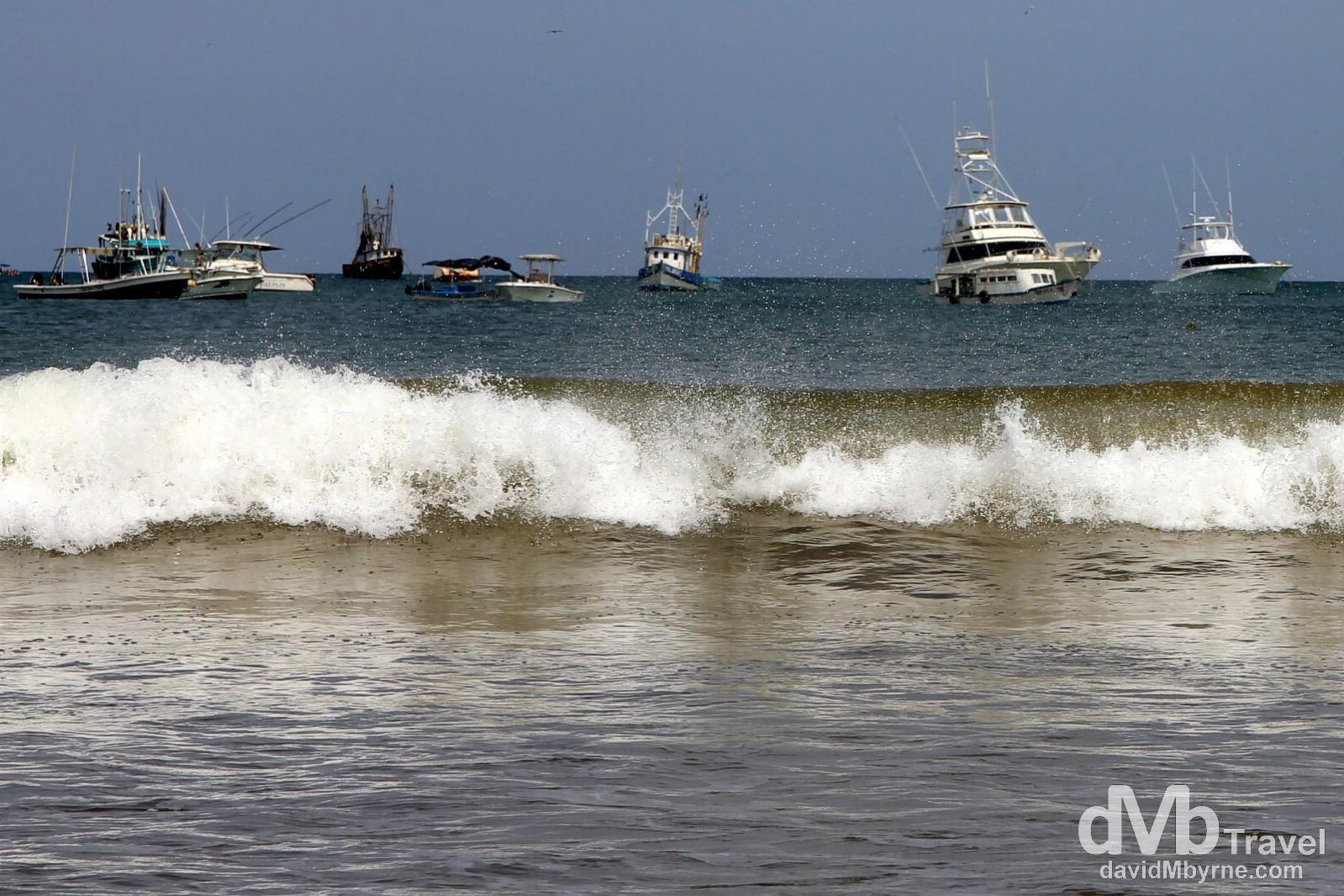 'Boats in repose'. San Juan Del Sur, Nicaragua. June 22nd 2013.