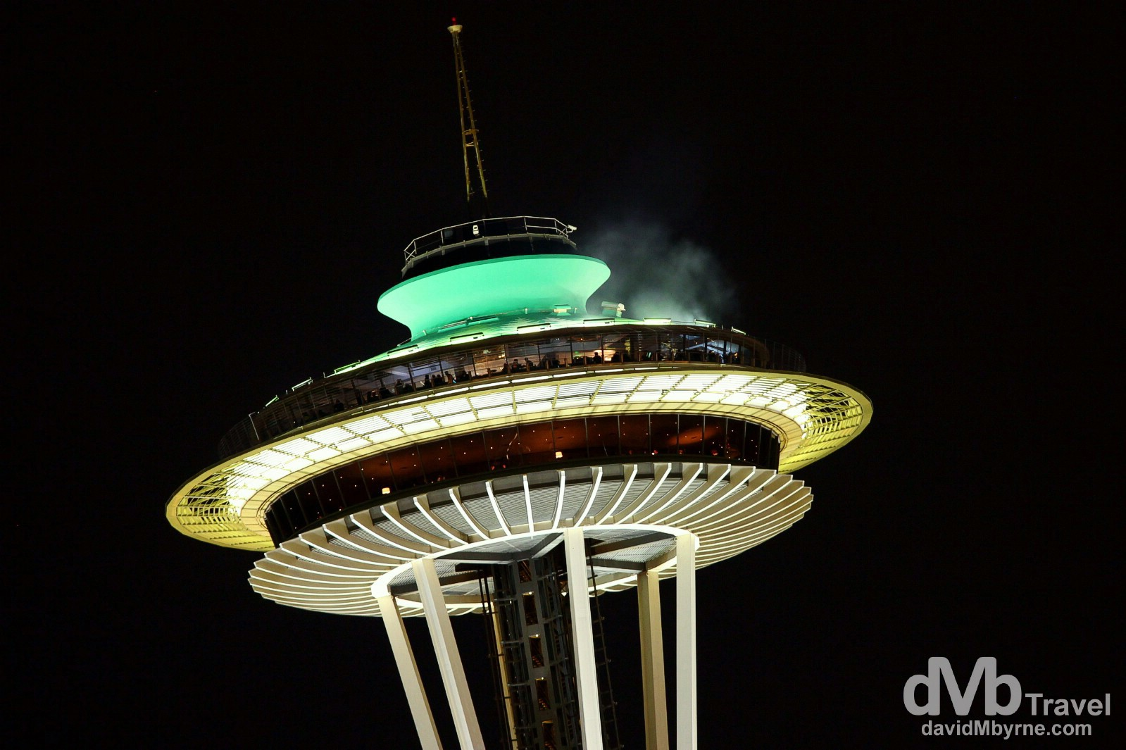 The Space Needle, Seattle, Washington, USA. March 24th 2013.