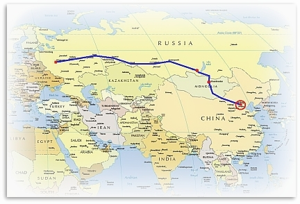 The Trans-Mongolian Route