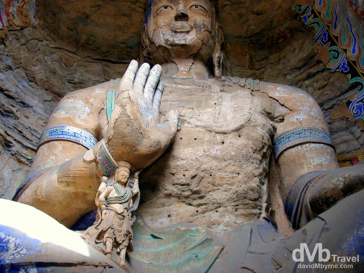 Cave 13 of the Yungang Grottoes on the outskirts of Datong, Shanxi province, China. October 2nd, 2004.