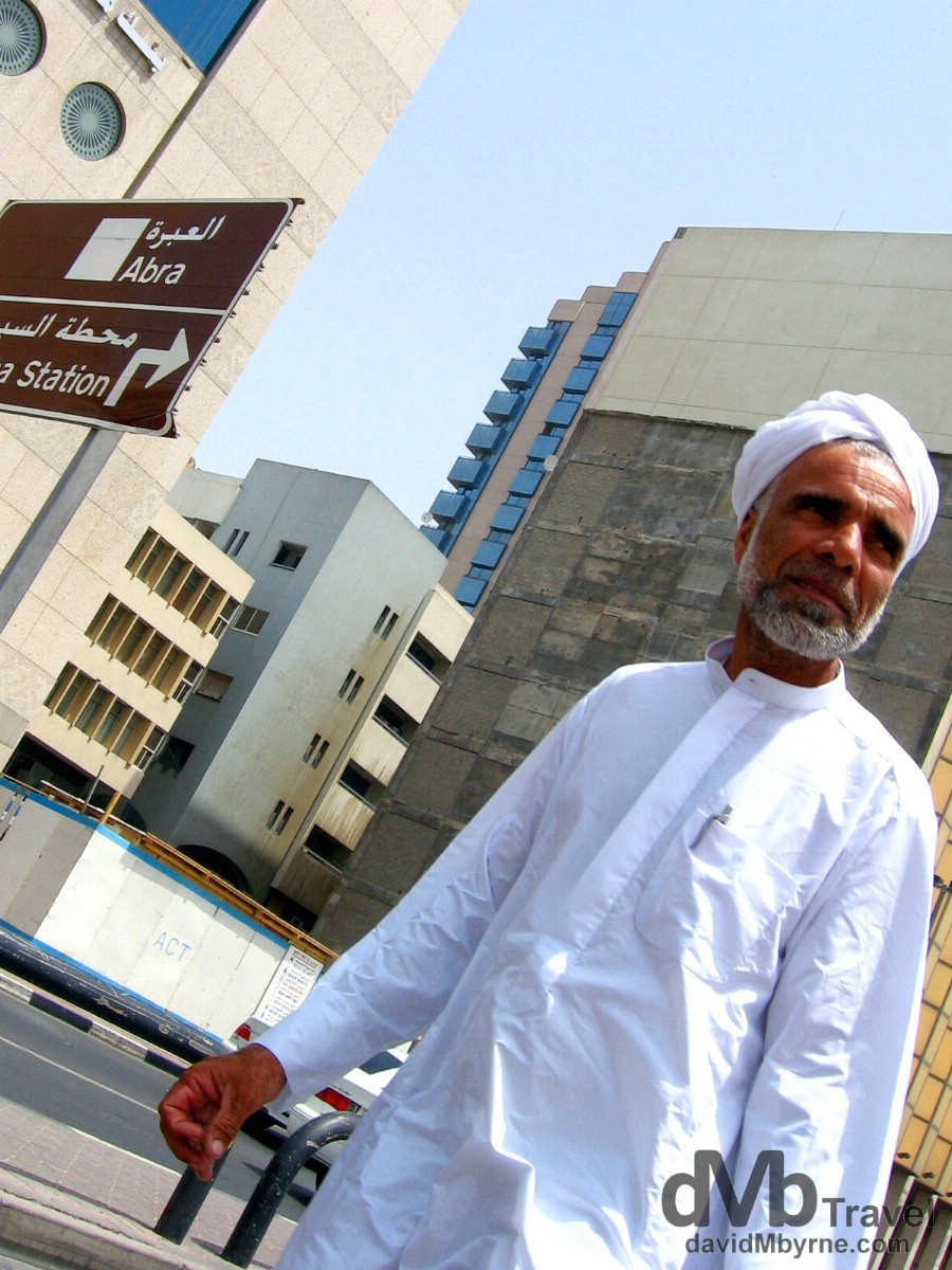 On the streets of the Deira district of Dubai, United Arab Emirates. April 7th, 2008.