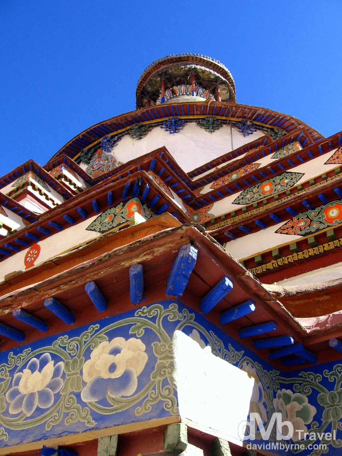 Pelkhor Chode Monastery. Gyantse, Tibet. February 29th 2008.