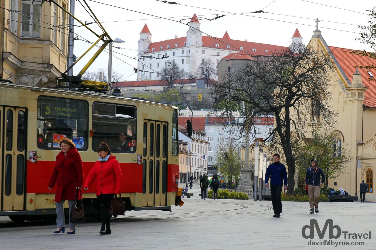 Bratislava, Slovakia. March 27th, 2014.