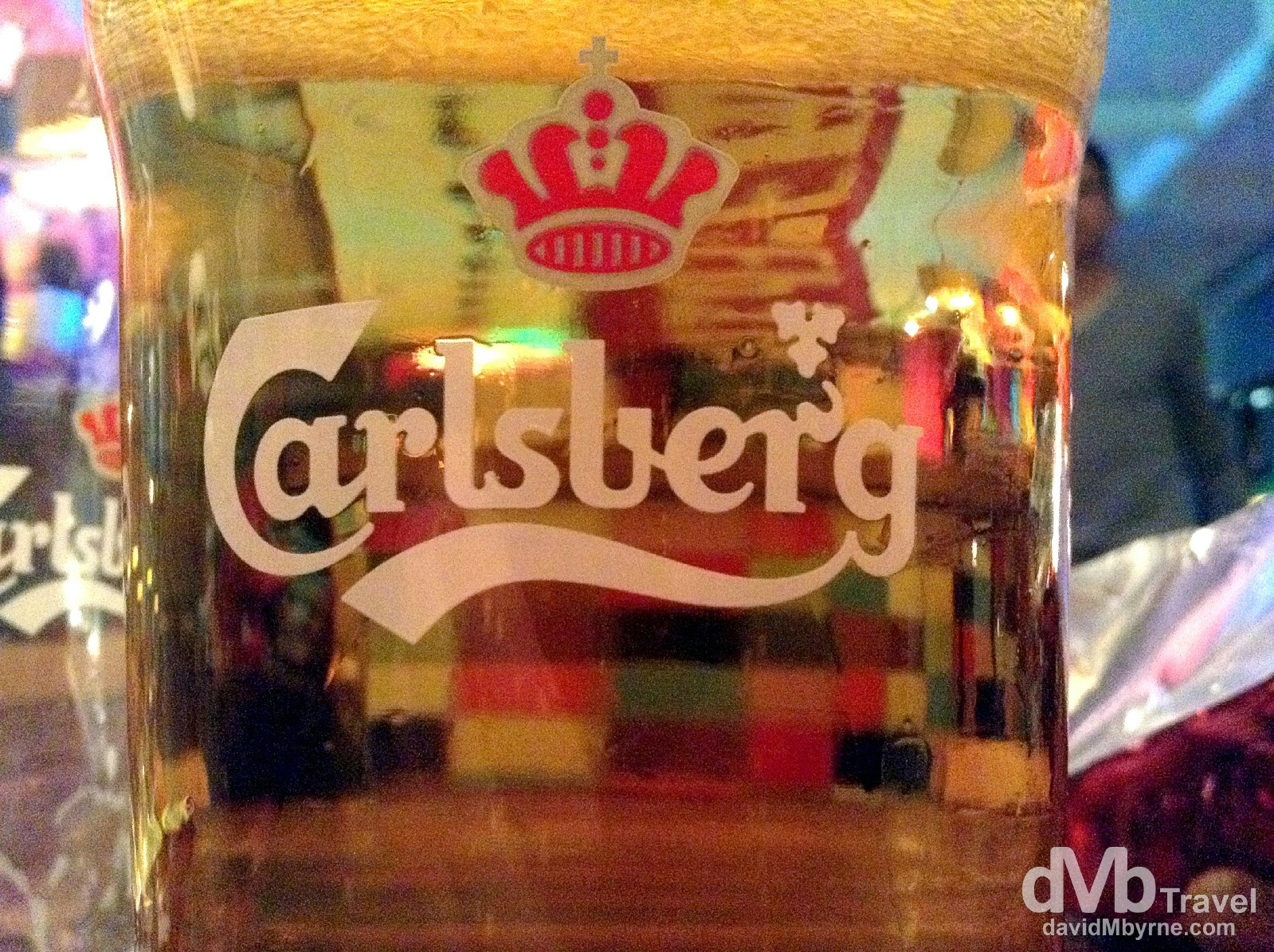 Carlsberg in Copenhagen Downtown Hostel, Copenhagen, Denmark. March 12th, 2014 (iPod Touch v5)