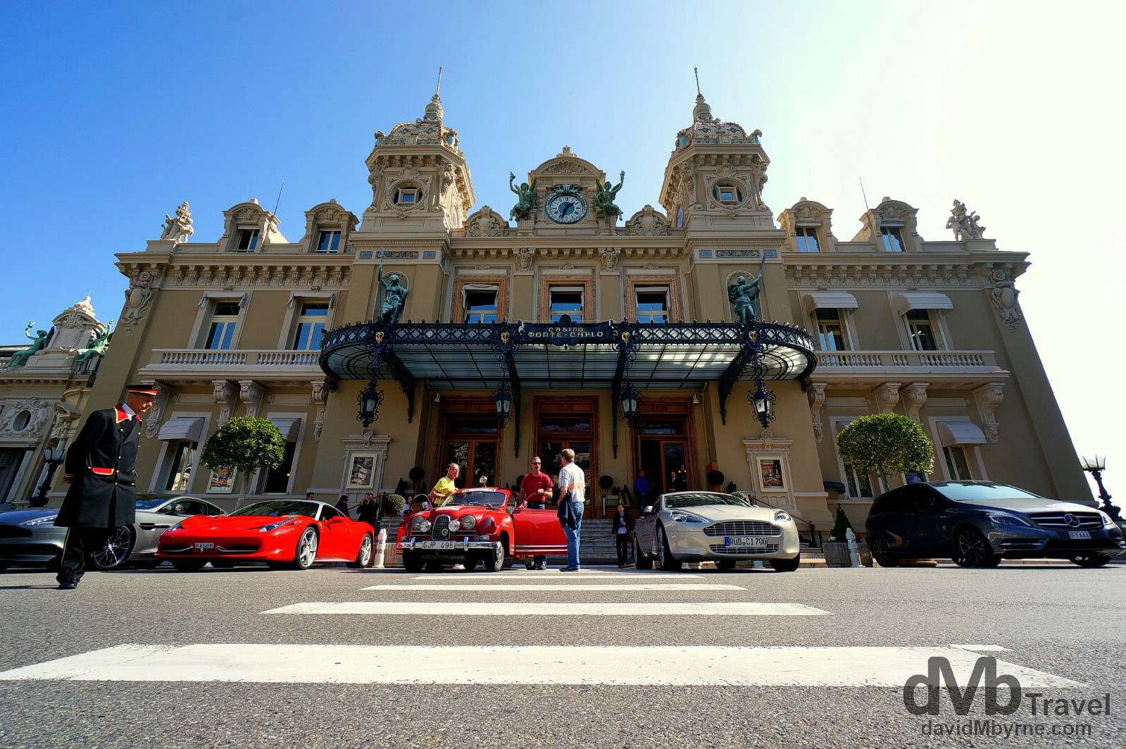 The Monte-Carlo Casino, Monaco. March 14th, 2014.