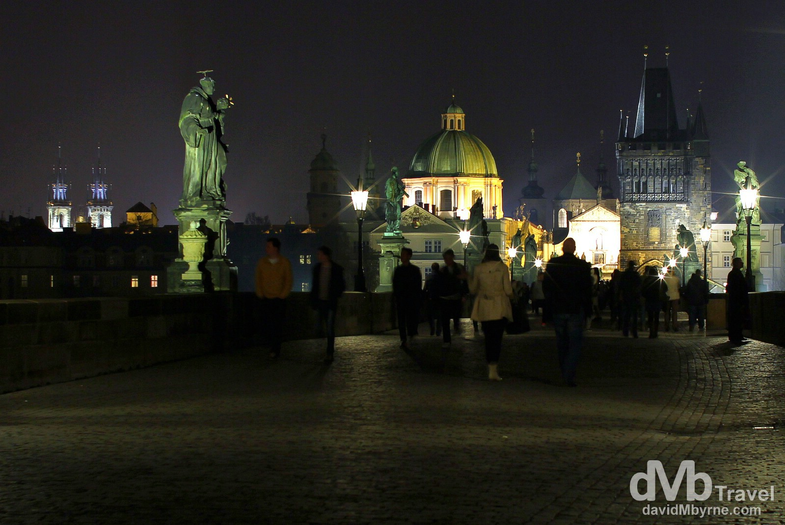 Karluv most (Charles Bridge), Prague, Czech Republic. March 31st, 2014.