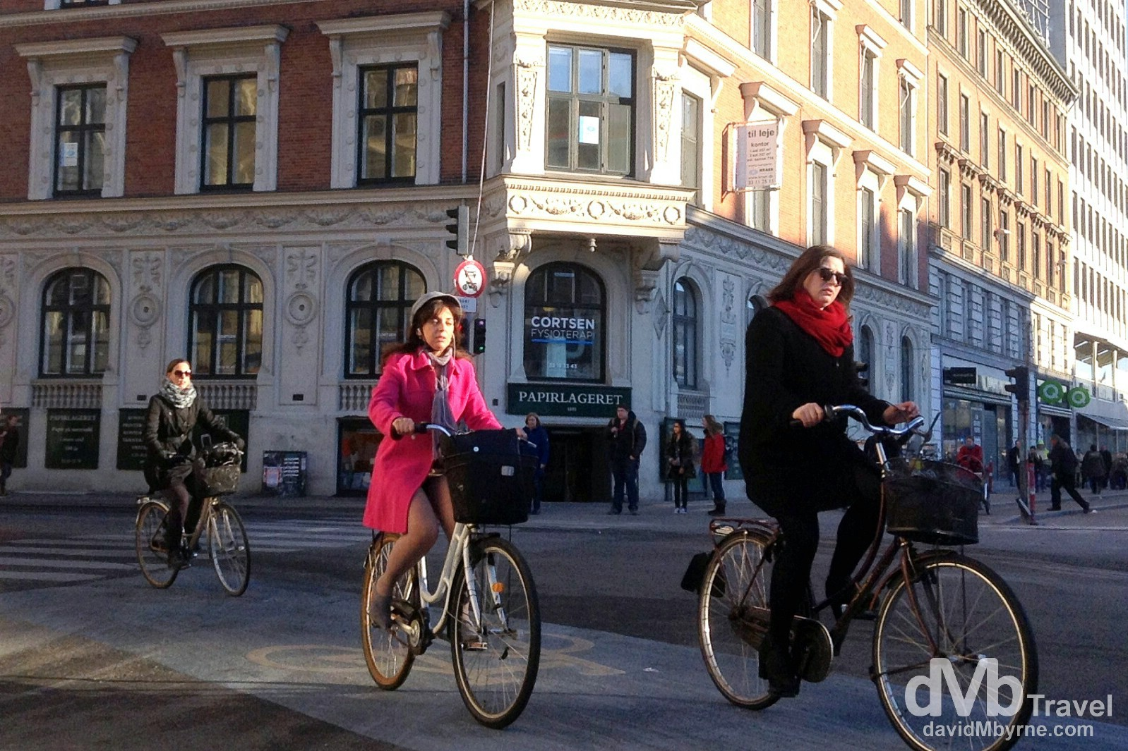 Cycling on the streets of Copenhagen, Denmark. March 13th, 2014 (iPod Touch v5)